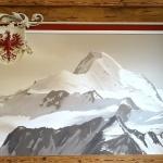 Malerei in Tirol - Restaurantgestaltung